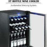 36 Bottles Beer Soda Cellar Fridge Freestanding