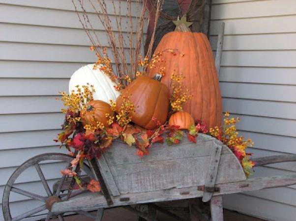 A Wheelbarrow Full of Fall Fun