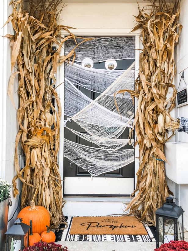 Add a Spooky Door to Your Porch Decor