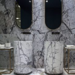 Amazing bathroom marble tiles