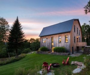Old Barn Saved From Ruin Becomes a Beautiful Modern House