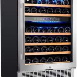 46 Bottle Freestanding and Built in Wine Refrigerato