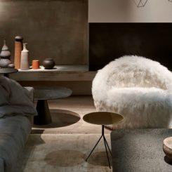 Artik oversized armchair from Baxter