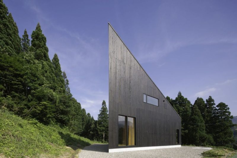 Amazing Houses Built On Triangle-Shaped Lots