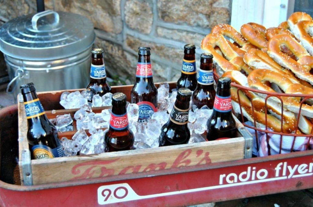 Create an Easily Transportable Outdoor Beverage Garden