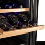 24 Bottle Free Standing Dual Zone Wine Cooler