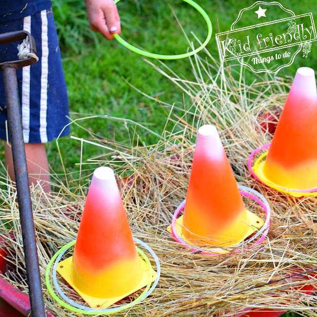 Candy Corn Decoration and Party Game