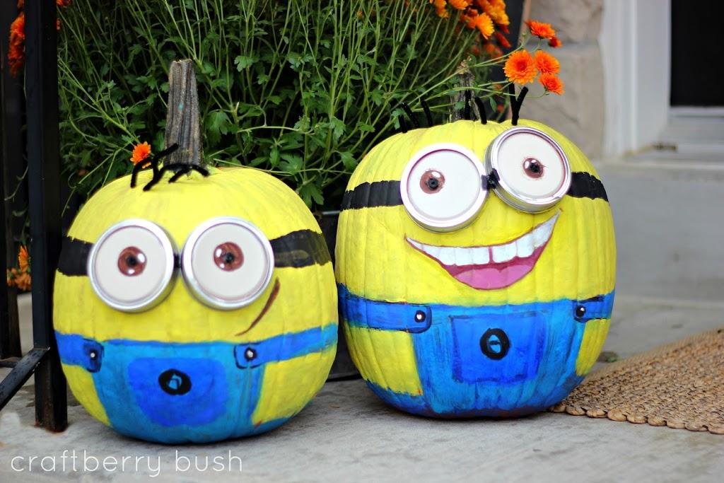 Character Painted Pumpkins