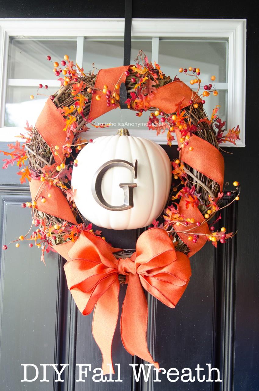 36 Modern Fall Wreath Ideas With A Cozy Vibe