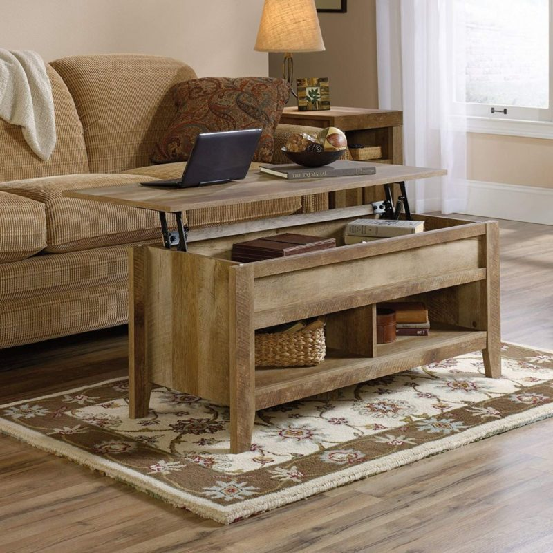 12 Lift-Top Coffee Tables That Surprise You In The Best Way Possible