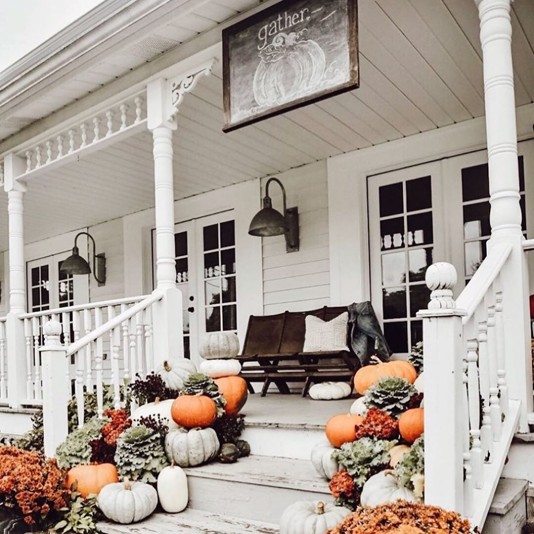 Use Less Space to Highlight Your Fall Decor