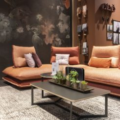 Gemini sofa from Aerre Italia