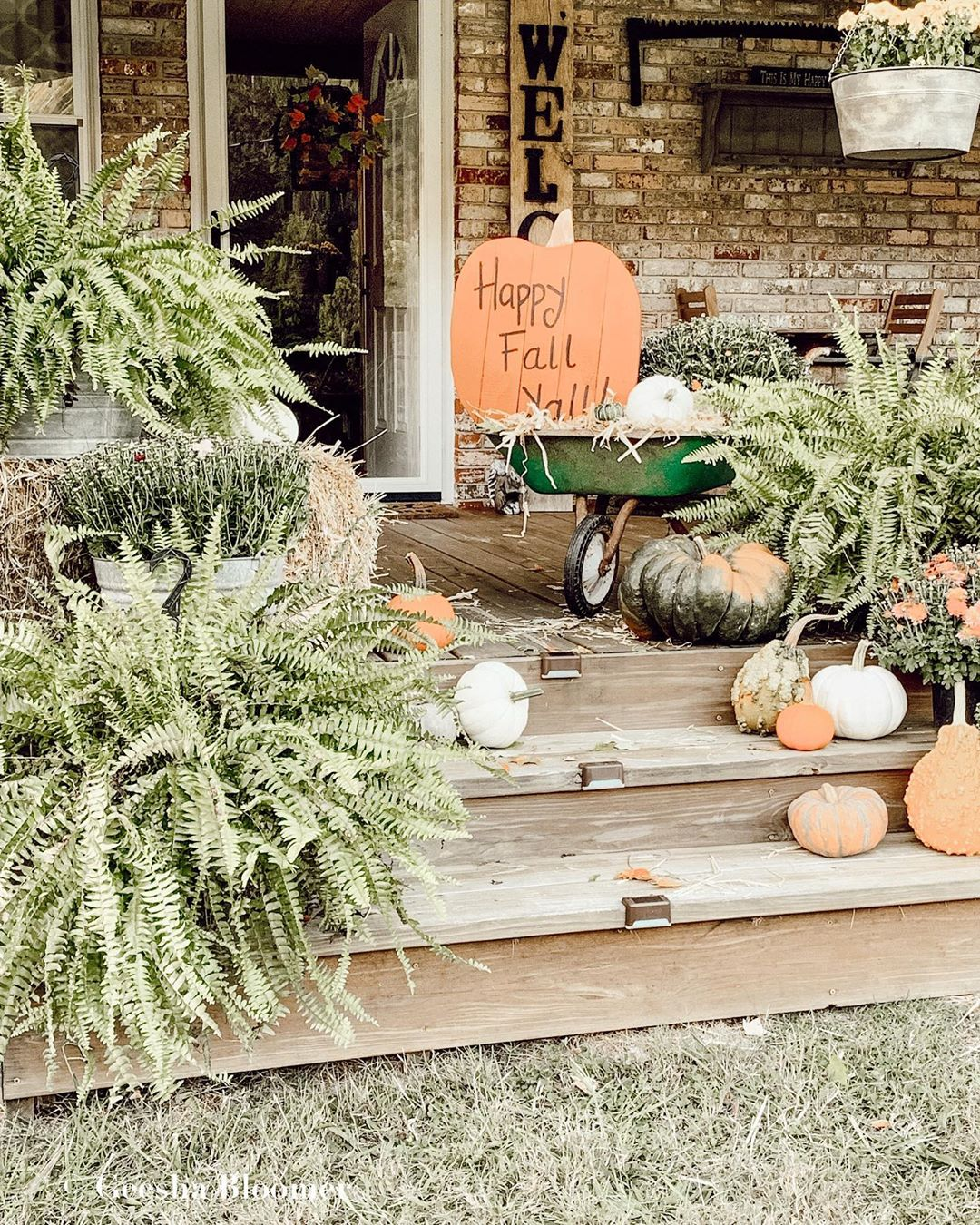 Embracing Fall Colors in Your Porch Decor