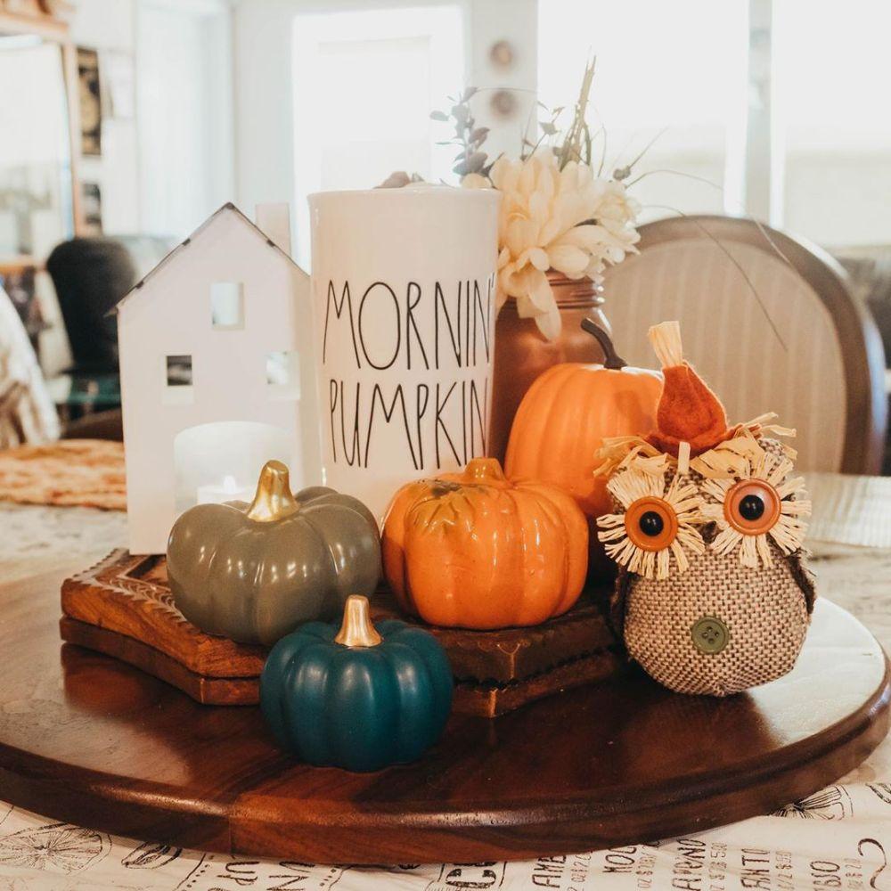 Mornin' Pumpkin Centerpiece