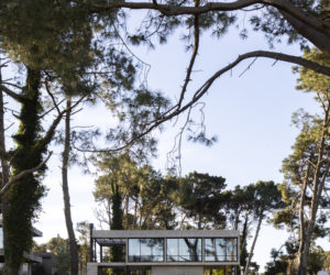 Concrete House Floats Above The Argentinian Countryside