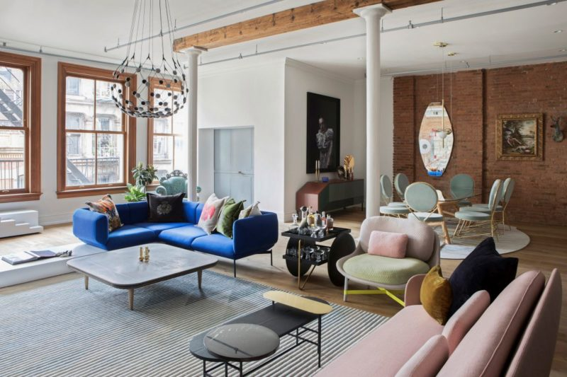 This Soho Loft is Designed for Entertaining and a Stylish New York Lifestyle