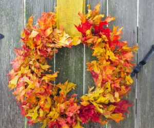 36 Modern Fall Wreath Ideas With a Cozy Vibe