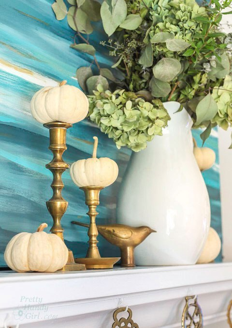 Pumpkins on Candleholders