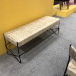 woven Rosarito bench from Mexa Design
