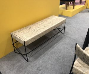 woven Rosarito bench from Mexa Design