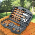 18-Piece Stainless-Steel Barbecue Grilling Tool