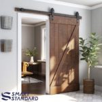6.6 FT Heavy Duty Sliding Barn Door Hardware Kit