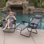 Adjustable Zero Gravity Adjustable Headrest Lounge Chair Recliners