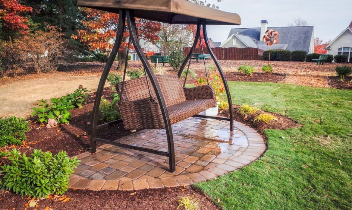 Bench swing chair stand
