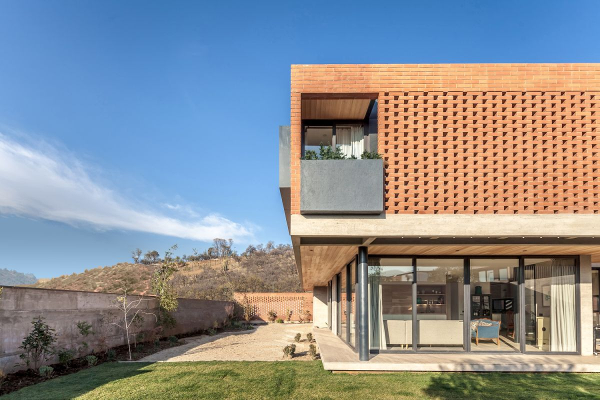 The property is surrounded by a privacy fence which sets clear spatial boundaries