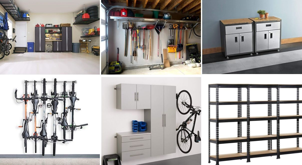 15 Best Garage Storage Systems For All Your Needs