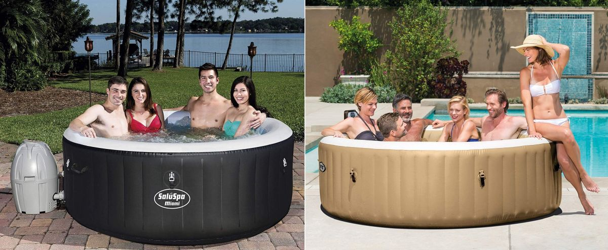 The Best Inflatable Hot Tubs for Soothing Away Daily Stress