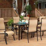 Brigantine 7-Piece Rust-Free Aluminum Outdoor Patio Dining Se
