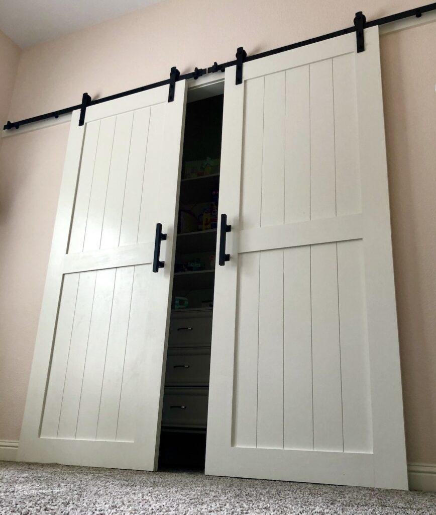 How to Install a Closet Barn Door Kit