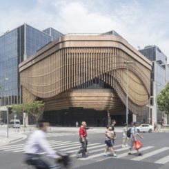 Bund Finance Centre Design by Foster + Partners + Heatherwick Studio