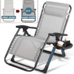 Zero Gravity Heavy Duty Outdoor Folding Lounge Chairs