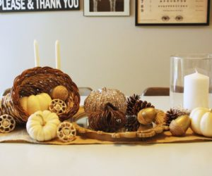 Beautiful Thanksgiving Decorations That Anyone Can Make
