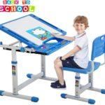 Children Desk and Chair Set Kids Study School Adjustable