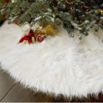 Christmas Tree Plush Skirt
