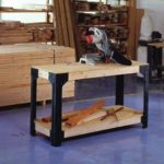 Custom Work Bench and Shelving Storage System