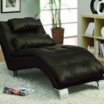 Dilleston Upholstered Chaise Brown