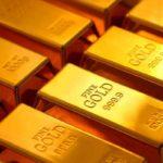 Gold Bullion Door Stopper