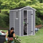 Grey Garden Storage Shed