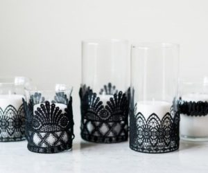 DIY Halloween Candle Projects With Spooky Designs