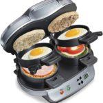 Hamilton Beach Dual Breakfast Sandwich Maker with Timer