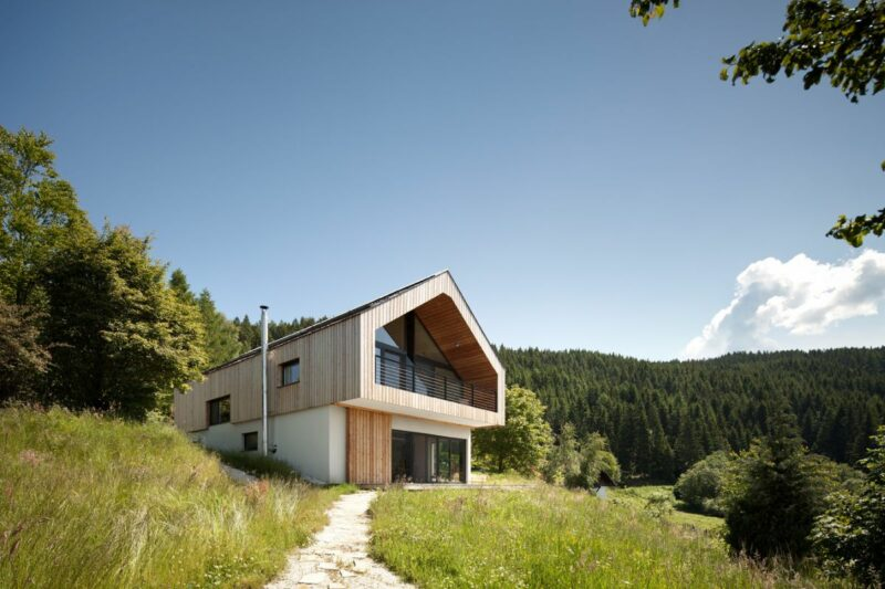 Modern Austrian Houses With Designs Inspired By Their Surroundings
