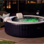 Intex Pure Spa 6-Person Inflatable Portable Heated Bubble Hot Tub