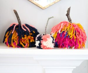 15 Amazing Yarn Halloween Crafts That Are Absolutely Adorable