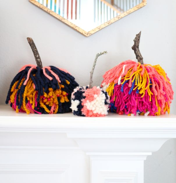 15 Amazing Easy Yarn Halloween Crafts That Are Absolutely Adorable