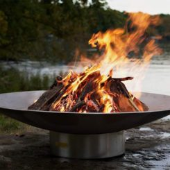 Liquid Propane Fire Pit Bowl Outdoor