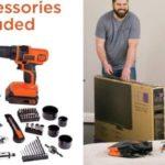 MAX Drill & Home Tool Kit